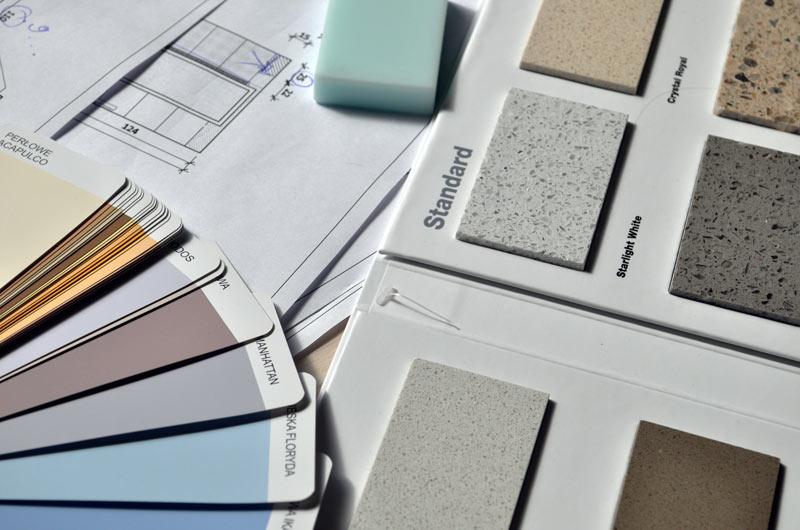 Choix des couleurs de peintures et du sol