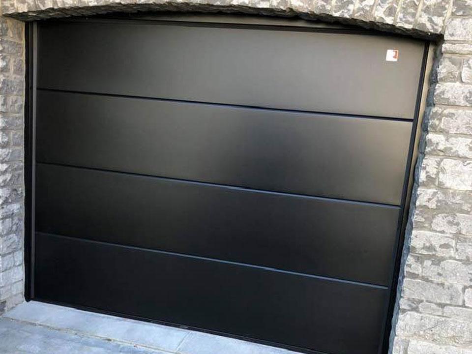 porte-garage-noire
